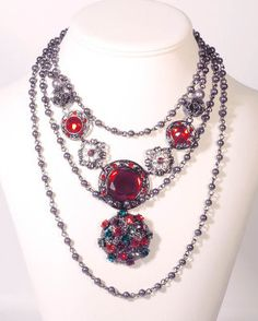 Scarlet Moment Necklace