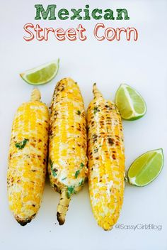 Mexican Street Corn Recipe Made The Top 20 Best Summer BBQ Food & Drinks List! Party FoodThis Mexican Street Corn Recipe Made The Top 20 Best Summer BBQ Food & Drinks List! Corn Recipes, Vegetable Recipes, Mexican Food Recipes, Mexican Drinks, I Love Food, Good Food, Yummy Food, Grilling Recipes, Cooking Recipes