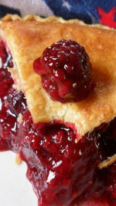 Bumbleberry Pie ... wonderful old fashioned mixed berry pie! Fresh rhubarb,raspberries, blackberries, blueberries.