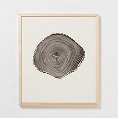 Sepia Woodcut Print