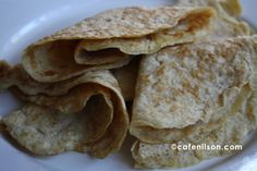 LOW CARB, ALMOST SUGARLESS: FLOURLESS CREPES