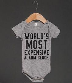 EXPENSIVE ALARM CLOCK