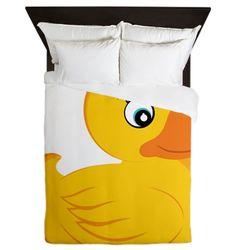 Rubber Ducky Queen Duvet