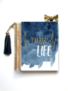 Nurse Life Planner Cover (Hand-Drawn by Britt) – Stylish Planners