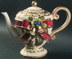 christmas tea pots - Google Search