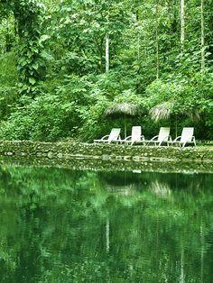 En #ArasháResort puedes sentarte a orillas del río y #relajarte disfrutando del #paisaje.