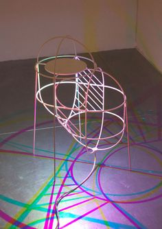Dennis Parren - CMYK lamp