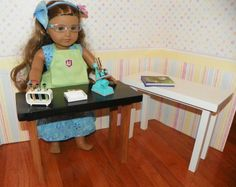 American girl size science table