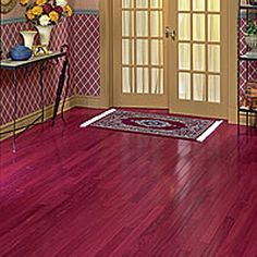 Purple Heart Wood Floors A Must For Our New House