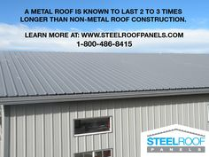 Metal Building Outlet is a top supplier of quality Metal Buildings. Affordable prices on prefabricated metal buildings, shops and garage kits. Metal Roof Repair, Metal Building Kits, Building Department, Roof Panels, Metal Buildings, Patio Roof, Roof Design, Building Design, Terrace