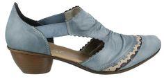 Rieker-Mirjam-Slip-On-Heel-Shoe-Leather-Womens-Low-Heel-Shoes-Low-Heel