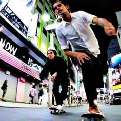 skating through Tokyo