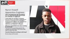 Our new apprentice, Nyron Howell, has shared some information on his Apprenticeship. #NAW2016