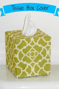 Creating a Beautiful Life: Fabric Covered Tissue Box Cover