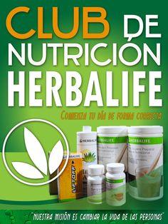 Diseño de pendón para Club de nutrición Herbalife.