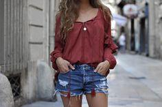 MarieandMood - Blog mode Lyon: La blouse à volants / SUMMER 16 / www.marieandmood.com