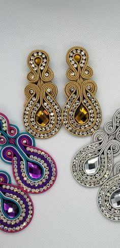 Crochet Earrings, Jewelry, Fashion, Stud Earrings, Moda, Jewlery, Bijoux, Fashion Styles, Schmuck