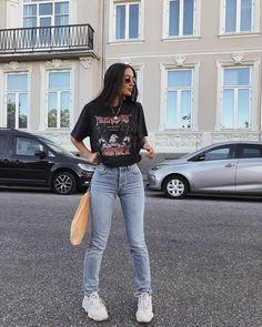 55 Perfect Trendy Spring Outfits for Street Style Coupon Valid Teen Fashion Outfits, Edgy Outfits, Mode Outfits, Retro Outfits, Cute Casual Outfits, Vintage Outfits, Style Fashion, Plad Outfits, Fashion Fashion