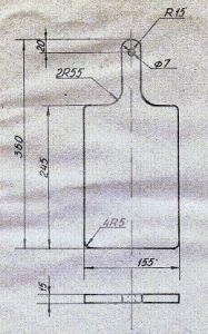 технологическая карта изготовления разделочной доски