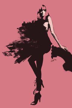"""Fashion breaks my heart. "" - Kanye West fashion illustration: Rose Moss by guyom Fashion Illustration Collage, Illustration Art, Fashion Illustrations, Design Illustrations, David Downton, Fashion Sketchbook, Fashion Sketches, Fashion Drawings, Fashion Poses"
