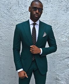 Dark Green Wedding Tuxedos Slim Fit Men s Business Suit Jacket Pants Men s Suits Two Buttons Wedding Suits Groomsmen Tuxedos Tuxedo Wedding, Wedding Men, Wedding Tuxedos, Green Wedding, Summer Wedding Suits, Burgundy Wedding, Wedding Ideas, Mens Fashion Suits, Mens Suits