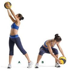 A medicine ball is a handy tool for doing strength training exercises for your Body. So here are the best medicine ball exercises which helpful to you. Full Body Workouts, Ab Workouts, At Home Workouts, Core Exercises, Ab Moves, Body Fitness, Fitness Tips, Fitness Motivation, Fitness Plan
