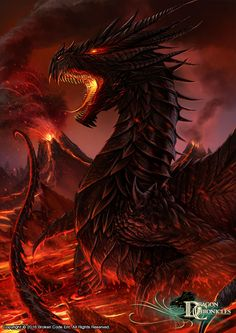 Dragon Chronicles - Black Dragon by RobertCrescenzio on DeviantArt