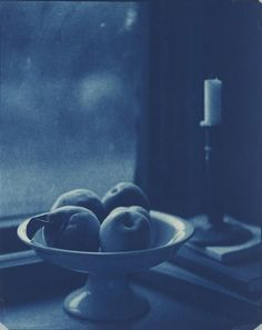 Peaches in Ironstone Bowl, Stone Ridge, NY John Dugdale