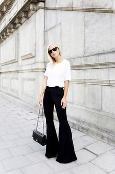 TREND: bell bottom trousers