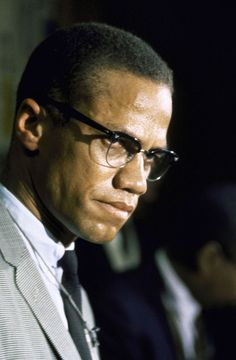 """You can't separate peace from freedom because no one can be at peace unless he has his freedom."" Malcolm X, 1965"