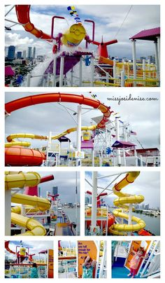 A tour onboard the Carnival Breeze detailing family vacation options onboard the ship, dining, activities, and traveling with small children.