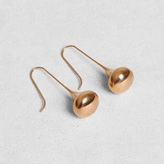 Earrings : Petit Sesame / Boucles d'oreille Tears IP rose