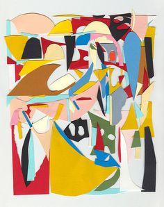 Hernan Paganini - Paper collage