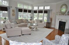 Poppy beach - Coastal - Living Room - Images by Kristy Kay | Wayfair