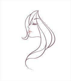 Hand drawing girl head vector graphic free vector in coreldraw cdr Pencil Art Drawings, Easy Drawings, Corel Draw Design, Face Anime, Free Vectors, Free Hand Drawing, Beauty And Fashion, Line Drawing, Graphic Design Art