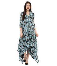 a6067f81c Shakumbhari Turquoise Georgette Kurti Price in India - Buy Shakumbhari  Turquoise Georgette Kurti Online at Snapdeal