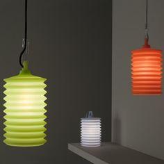 Rotaliana LAMPION - Suspension extérieur vert