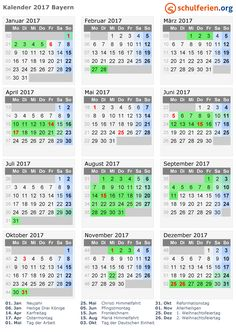 117 Best Kalender 2017 Free Download Images On Pinterest