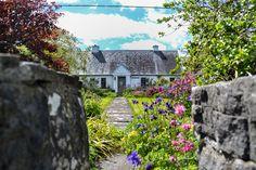 Old Irish Cottages, Clare, Ireland