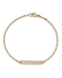 Cyber Monday: Monica Rich Kosann Gold Posey Bracelet / Garance Doré