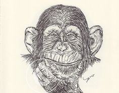 My monthly ballpen drawings Ballpen Drawing, Monkeys, New Work, Behance, Gallery, Drawings, Check, Art, Art Background