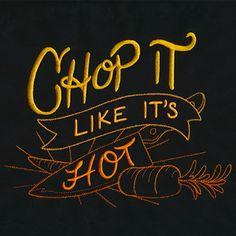 Spice It Up II - Chop It Like It's Hot design (UT14003) from UrbanThreads.com