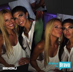 teresa giudice and dina manzo   Dina Manzo Betraying Teresa Giudice? New Rumors: 'Real Housewives of ...