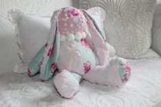 Your place to buy and sell all things handmade Chenille Crafts, Chenille Bedspread, Cabbage Roses, Romantic Homes, Pom Pom Trim, New Beds, House And Home Magazine, Bed Spreads, Stuffed Animals