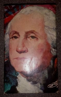 VINTAGE AVON GEORGE WASHINGTON BUST BOTTLE OF TAI WINDS AFTER SHAVE  FULL BOTTL