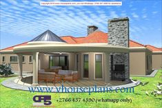 House Plans Idea With 4 Bedrooms Round House Plans, Tuscan House Plans, My House Plans, House Floor Plans, House Wall Design, Modern House Design, House Plans With Pictures, Building Costs, Kerala House Design