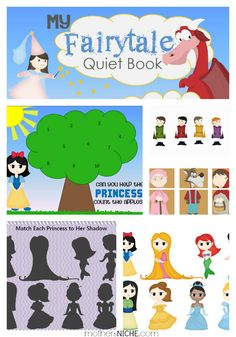 fairy tale quiet book $4.99