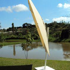 Ombrelone Lateral Quadrado Bali 3X3M - Mobsol
