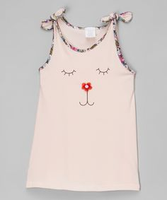 Look at this Leighton Alexander Pink Face Dress - Toddler & Girls on #zulily today!