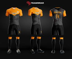 Here are a couple of our new soccer uniform designs for both youth and adult.Get your custom uniform today Sport Shirt Design, Sports Jersey Design, Football Design, Football Uniforms, Team Uniforms, Team Wear, Sport Wear, Football Shirts, Sports Shirts